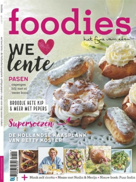Foodies Magazine 4, iOS, Android & Windows 10 magazine