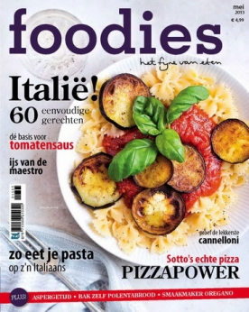 Foodies Magazine 5, iOS, Android & Windows 10 magazine