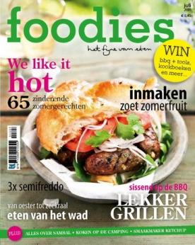 Foodies Magazine 7, iOS, Android & Windows 10 magazine