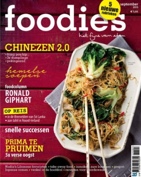 Foodies Magazine 9, iOS, Android & Windows 10 magazine