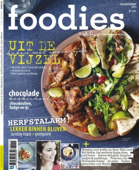 Foodies Magazine 11, iOS, Android & Windows 10 magazine
