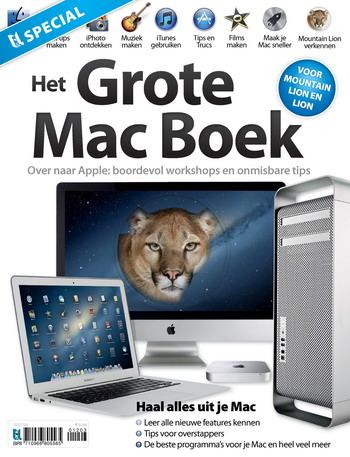 Het Grote Mac Boek 1, iOS magazine
