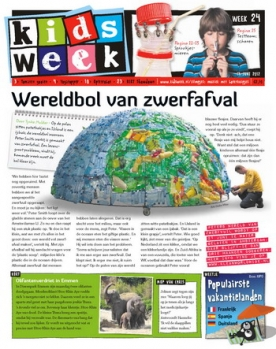 Kidsweek 24, iPad & Android magazine