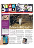 Kidsweek 15, iPad & Android magazine