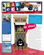 Kidsweek 38, iOS & Android magazine