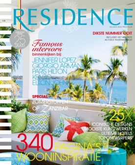 Residence 7, iPad & Android magazine