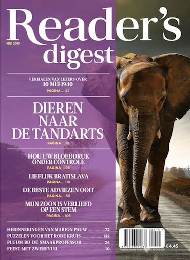 Reader's Digest 5, iOS, Android & Windows 10 magazine