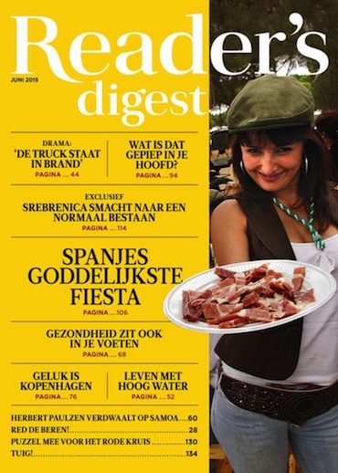 Reader's Digest 6, iOS, Android & Windows 10 magazine