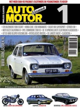 Auto Motor Klassiek 1, iOS, Android & Windows 10 magazine