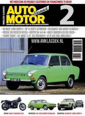 Auto Motor Klassiek 2, iOS, Android & Windows 10 magazine