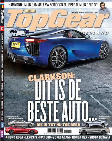 TopGear Magazine 93, iOS, Android & Windows 10 magazine