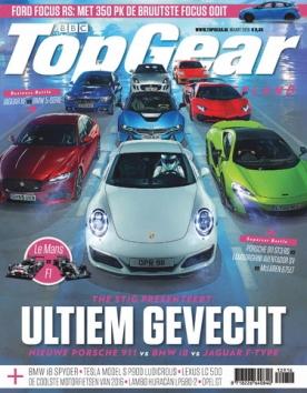 TopGear Magazine 129, iOS, Android & Windows 10 magazine