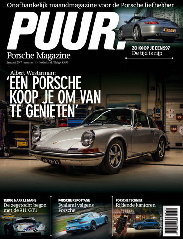PUUR Porsche Magazine 1, iOS, Android & Windows 10 magazine