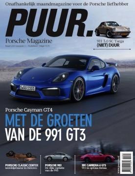 PUUR Porsche Magazine 3, iOS, Android & Windows 10 magazine