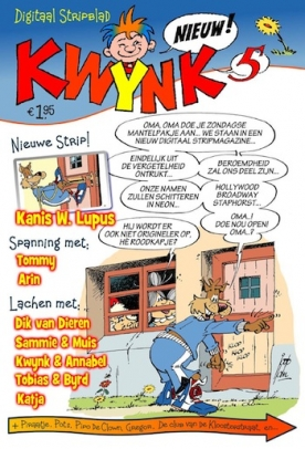 KWYNK 5, iPad & Android magazine