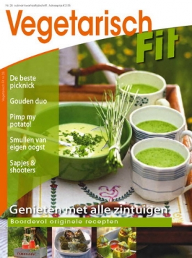 Vegetarisch Fit 28, iOS & Android  magazine