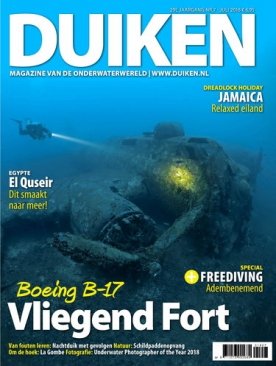 Duiken 7, iOS & Android  magazine