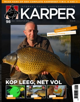 Karper 98, iOS & Android  magazine