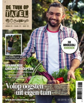 De tuin op tafel 3, iOS & Android  magazine