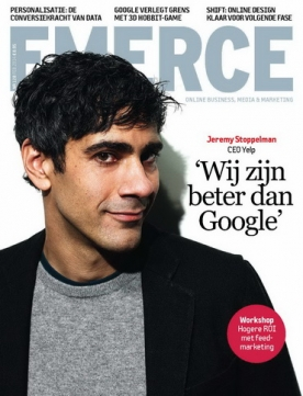 Emerce 128, iOS, Android & Windows 10 magazine