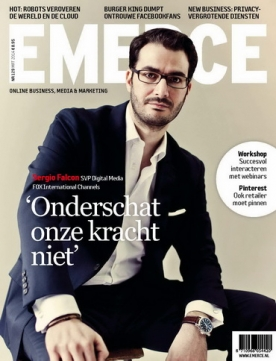 Emerce 129, iOS, Android & Windows 10 magazine