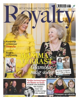 Royalty 3, iOS & Android  magazine