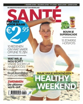 Sante 6, iOS & Android  magazine