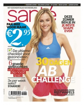 Sante 5, iOS & Android  magazine