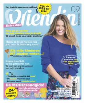 Vriendin 9, iOS & Android  magazine