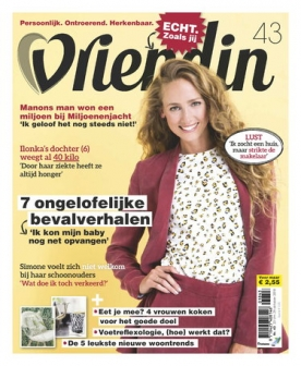 Vriendin 43, iOS & Android  magazine