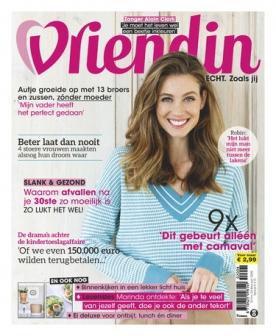 Vriendin 8, iOS & Android  magazine