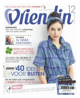 Vriendin 12, iOS & Android  magazine