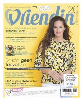 Vriendin 20, iOS & Android  magazine