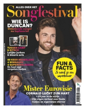 Songfestival Special 1, iOS & Android  magazine
