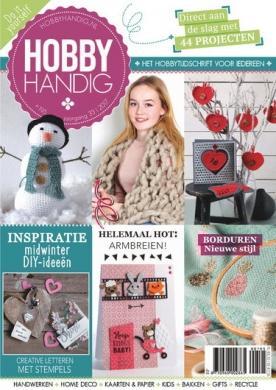 HobbyHandig 195, iOS & Android  magazine