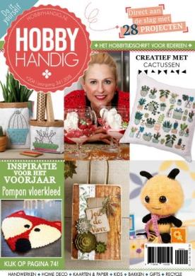 HobbyHandig 204, iOS & Android  magazine