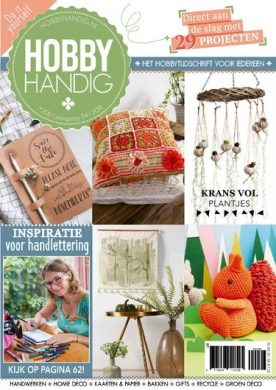 HobbyHandig 206, iOS & Android  magazine