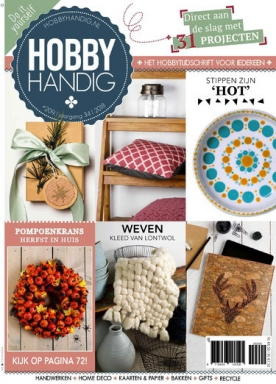 HobbyHandig 209, iOS & Android  magazine