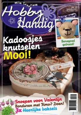 HobbyHandig 177, iOS & Android  magazine