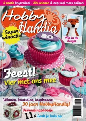 HobbyHandig 181, iOS, Android & Windows 10 magazine