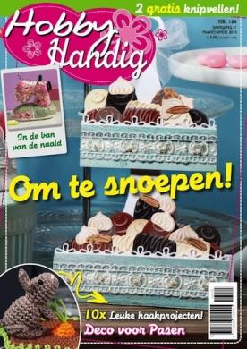 HobbyHandig 184, iOS & Android  magazine
