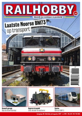Railhobby 390, iOS & Android  magazine