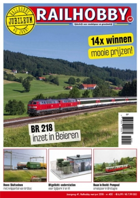 Railhobby 400, iOS & Android  magazine