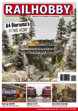 Railhobby 408, iOS & Android  magazine