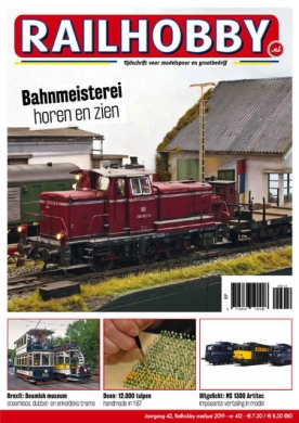 Railhobby 412, iOS & Android  magazine