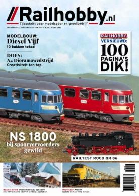 Railhobby 419, iOS & Android  magazine