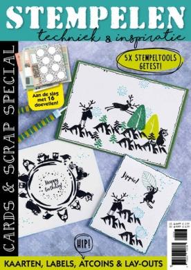 Cards & Scrap 35, iOS & Android  magazine