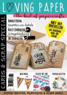 Cards & Scrap 38, iOS & Android  magazine