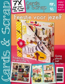 Cards & Scrap 16, iOS & Android  magazine