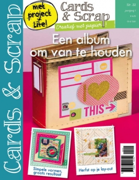 Cards & Scrap 22, iOS & Android  magazine